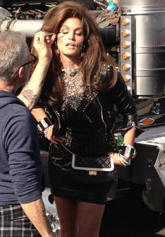 A Gift - Cindy Crawford with Billy B!