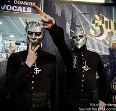 Nameless Ghoul - Ghost B.C. unplugged US tour