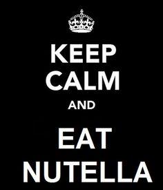 .. Eat Nutella