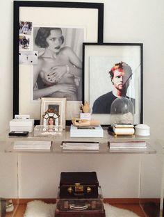 Lucite Lux® Desk. Pure class.
