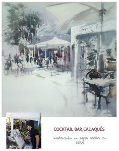 Art Sketchbook, Sketchers, Watercolor Paintings, Houses, Colours, Building, Outdoor, Watercolor Artists, Watercolor Painting
