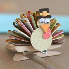 Fun Thanksgiving Crafts for the kids!