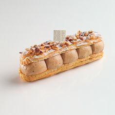 Eclair Paris Brest by Fabien Rouillard Fauchon Eclairs, Profiteroles, French Desserts, Just Desserts, Delicious Desserts, Dessert Recipes, Choux Pastry, Pastry Cake, Macaroons