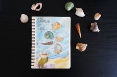 It will become a beautiful mosaic once you'll be able to gather the pieces. Illustrated Quotes, Vitamins, Mosaic, Sea, Illustration, Projects, Log Projects, Blue Prints, Mosaics