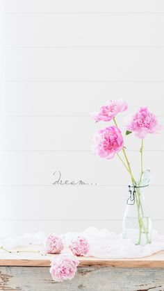 Pink Peonies | June iPhone Wallpaper | Peonies | dream