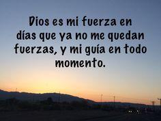 Dios mi fuerza