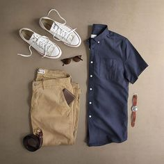 Weekend outfit formulas for men mens f Komplette Outfits, Casual Outfits, Men Casual, Fashion Outfits, Casual Styles, Casual Attire, Trend Fashion, Mens Fashion Blog, Men's Fashion