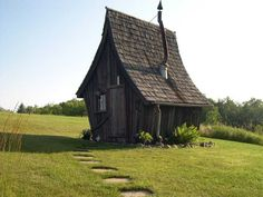 Rustic Way - Company in Minnesota that makes super cute mini houses! I want a whimsical garden shed like in the picture!! :D