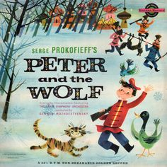 Peter and the Wolf album cover