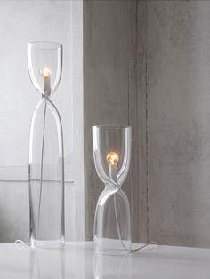 Pendulum Light Made Of Glas (Nendo) / Interior * Minimalism By LEUCHTEND  GRAU +