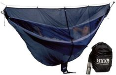 The Guardian bug net from Eagles Nest Outfitters (ENO) is designed to protect hammock users from pesky winged predators. Enjoy your time in the backyard or the backcountry without any concern for mosquitoes, black flies or other insects. Family Camping, Tent Camping, Camping Gear, Outdoor Camping, Camping Hacks, Outdoor Gear, Camping Essentials, Outdoor Stuff, Diy Camping