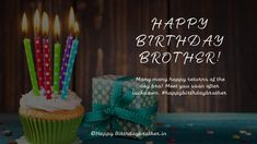 Happy Birthday Brother Messages, Happy Birthday Sms, Happy Birthday Cake Images, Birthday Wishes For Myself, Birthday Quotes, Cake Pics, Cake Pictures, Quality Quotes, Ways To Show Love