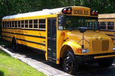 school bus; rides to school, band and choir trips, church bus; lots of fun--and some breakdowns on the way to trips!  Memories!