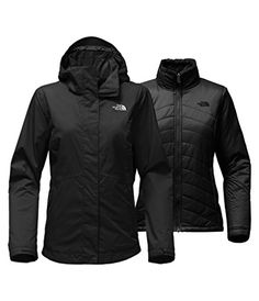 The North Face Mossbud Swirl Triclimate Jacket Womens TNF Black Medium >>> See this great product.