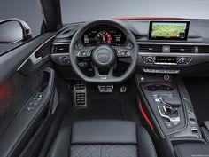 Audi S5 Cabrio Interior