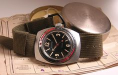 Vostok NVCH-30, Professional Diver's Watch