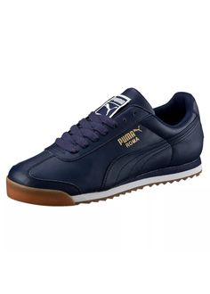 Puma Roma Leather: Navy/Gum