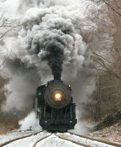 Snow & Steam 2 ~~~ Photographer: Bill Merlavage