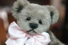 """""""Ellie"""" 7.5"""" faux fur teddy bear. OOAK One Of A Kind. http://www.kimbearlys.com"""