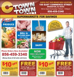"""C Town Supermarket is the """"Supermarket for Savings"""". Click here to see why.."""