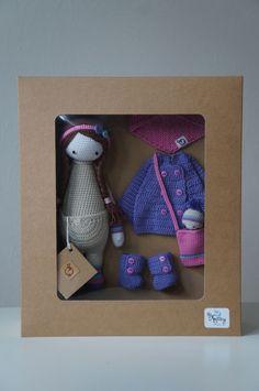KIRA mod made by Renata S. / crochet pattern by lalylala Love Crochet, Crochet Motif, Crochet Baby, Knit Crochet, Crochet Patterns, Knitted Dolls, Crochet Dolls, Amigurumi Doll, Amigurumi Patterns