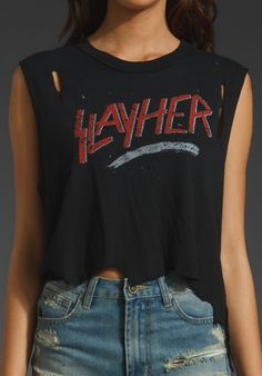 UNIF Slayer Tee in Faded Black at Revolve Clothing - Free Shipping!