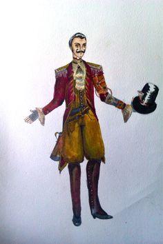 SteamPunk Circus: Ringleader by anyaroseberries.deviantart.com
