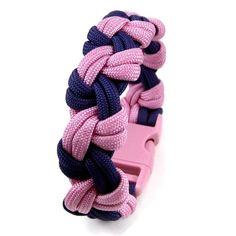 Pinwheel paracord bracelet:   Made using the Double Tatted Chain, also See-Saw Chain.  About 3/4 of an inch wide.  Made with 550 Type III Commercial with 7 core strands.
