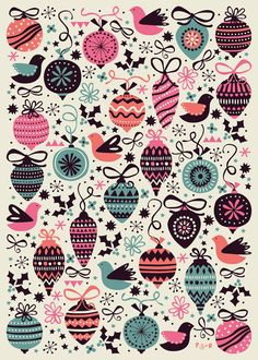 Wrapping Paper Collection by Poppy & Red , via Behance