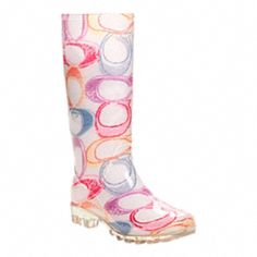 Ready for a rainy day try these on for size. Coach rain boots are perfect for poring days.
