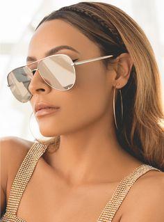 Quay x Desi Gold High Key Sunglasses
