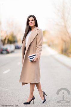 Classic camel coat for elegant style. #camelcoat