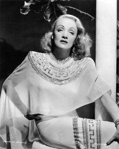 """""""Glamour is what I sell, it's my stock in trade."""" Marlene Dietrich"""