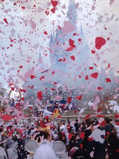 Valentine's Day at Magic Kingdom 2013. Vow Renewal ceremony for Limited Time Magic.