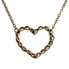 Twisted Love Necklace, $24, now featured on Fab.