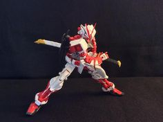 Gary Yang (USA) The picture I am submitting for the contest is a MG Astray Red Frame, who is getting ready to draw the Gerbrea Straight and unleash its power.
