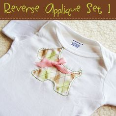 Reverse Applique Set