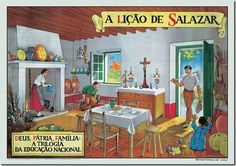 Ed VN Lessons Salazar — Visualizing Portugal: the New State Vintage Ads, Vintage Posters, Portuguese Empire, Old Scool, Crime, Poster Ads, National Flag, My Books, Have Fun
