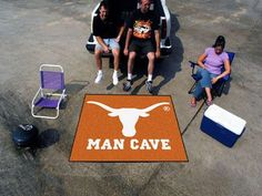 """Man Cave Tailgater (60""""x72"""") - University of Texas"""