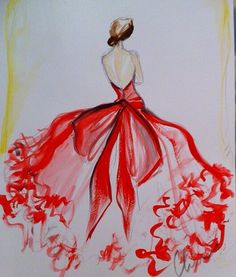 Christian Siriano Sketch
