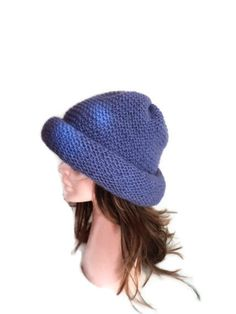 Sale Wool hat Handmade hat knitting hat Lilac hat  by beyazdukkan, $29.00