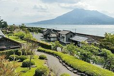 About the city of Kagoshima, Japan. Japan Guide, Kagoshima, Japan Travel, Travel Guide, Places To Visit, Country Roads, Mansions, House Styles, City