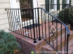 Dallas TX Fort Worth custom wrought iron railings Raleigh Wrought Iron Co.
