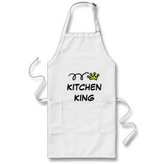 Cool apron for men | Kitchen King