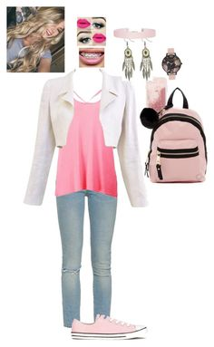 """""""Untitled #461"""" by pinkcamo123 ❤ liked on Polyvore featuring Case-Mate, Yves Saint Laurent, Boohoo, Chanel, Converse, Madden Girl, Olivia Burton and Humble Chic"""