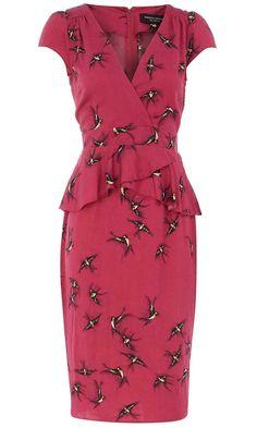Dorothy Perkins Bird Print Dress, £39.50