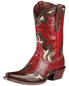Ariat Women's Reina Boot - Red Appy/Well Brown