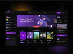 Modern Web Design, Ui Ux Design, Anime Sites, Website Design Inspiration, Door Design, Banner, Games, Landing, Desktop