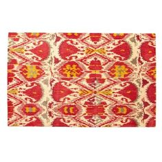 Check out this item at One Kings Lane! Inigo Ikat Rug, Strawberry