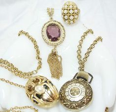 AVON PERFUME SOLID JEWELRY LOT >>FOR SALE<< JUST LISTED 4/15/12 <<7DAY AUCTION>> CLICK PICTURE 4 MORE INFO !!